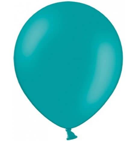 Ballons de baudruche Biodégradable Bleu Lagon (x10)| Hollyparty