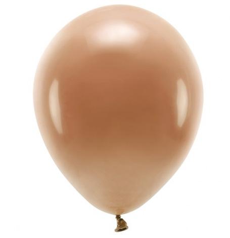 Ballons de baudruche biodégradable Chocolat (x5)  Hollyparty