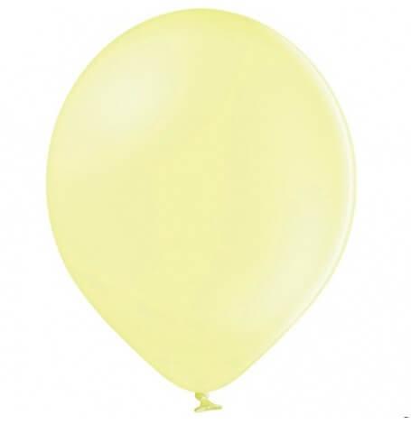 Ballons de baudruche Biodégradable Jaune Pastel (x5)| Hollyparty