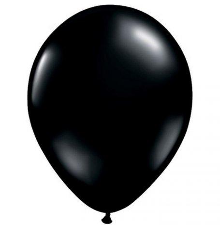 Ballons de baudruche Biodégradable Noir Métallisé (x5)| Hollyparty