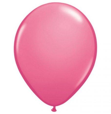Ballons de baudruche Biodégradable Rose Fuschia Métallisé (x5)| Hollyparty