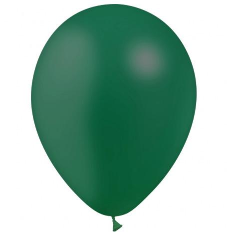 Ballons de baudruche Latex Vert Foncé (x10)| Hollyparty
