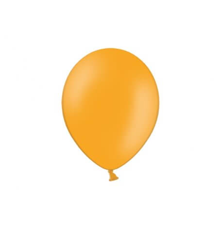 Ballons de baudruche mini Orange Latex (x10)| Hollyparty