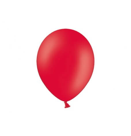 Ballons de baudruche Mini Rouge Latex| Hollyparty