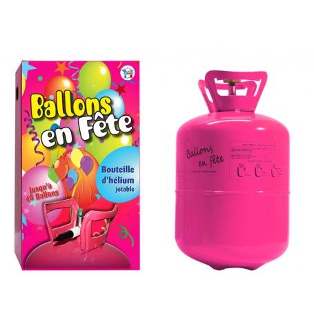 Bouteille d'hélium Jetable pour 17 ballons 23 cm| Hollyparty