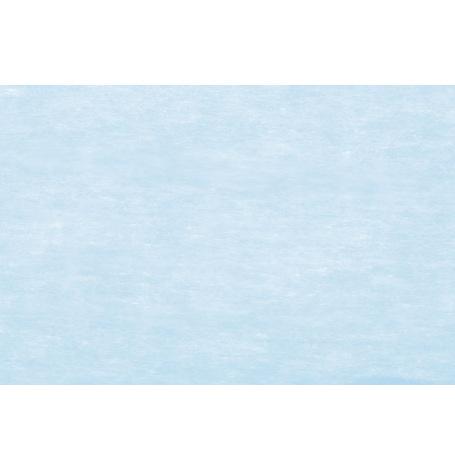 Chemin de table Intissé Luxe Bleu Pastel  | Hollyparty