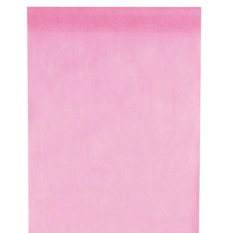 Chemin de table Intissé Uni Rose Pastel| Hollyparty