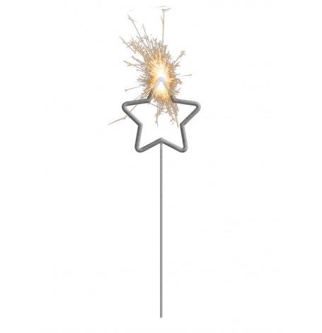 Cierge magique Etoile 16 cm | Hollyparty