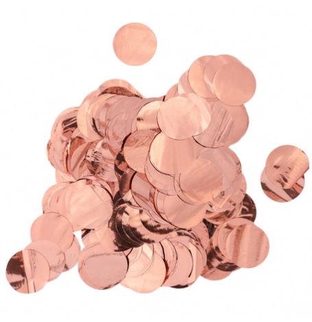 Confettis de table Rond Rose Gold   Hollyparty