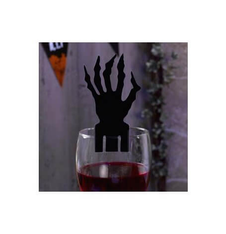 Décorations de verre Main Effrayante Halloween (x10)| Hollyparty
