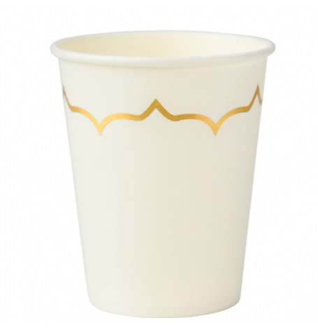 Gobelets en carton Tropical Jungle (x4)| Hollyparty