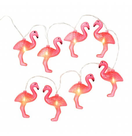 Guirlande Lumineuse Flamant Rose| Hollyparty