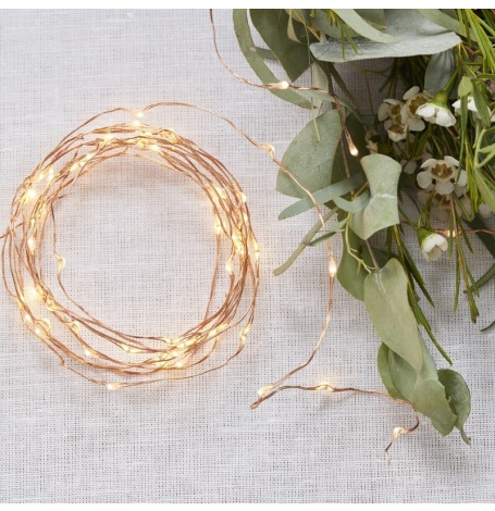 Guirlande lumineuse Rose Gold | Hollyparty