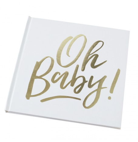 Livre d'Or Oh Baby Baby Shower| Hollyparty
