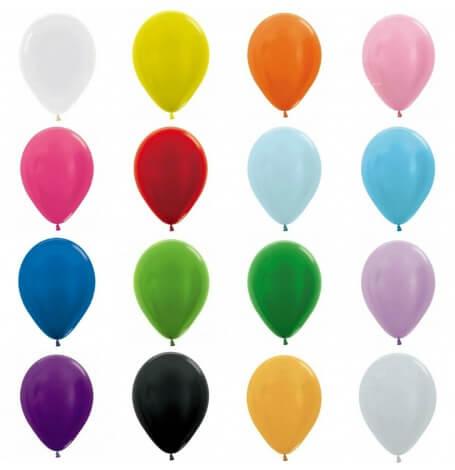 Mini Ballons de baudruche Biodégradable 12.5 cm (x10)| Hollyparty
