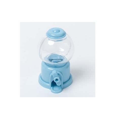 Mini Distributeur à bonbon Bleu Ciel (10 cm)| Hollyparty