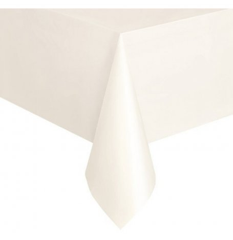 Nappe Rectangulaire Blanc   Hollyparty