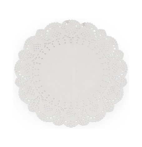 Napperons Dentelle Papier Blanc | Hollyparty