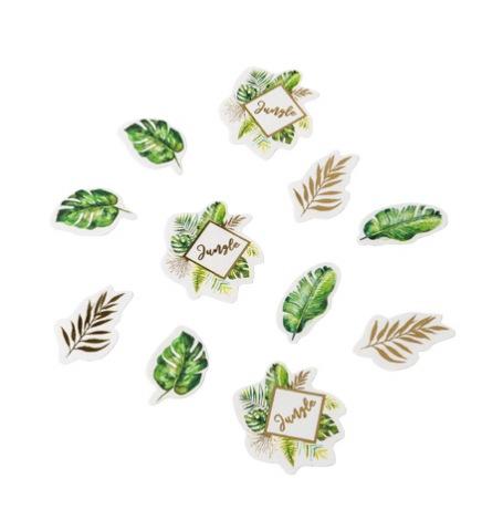 Poche de 100 Confettis de table Vert Tropical | Hollyparty