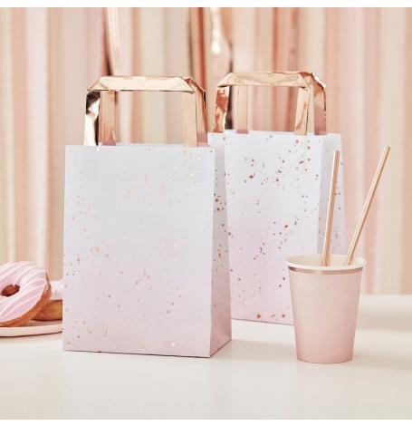 Pochettes Cadeaux à Hanse Rose Gold (x5)| Hollyparty