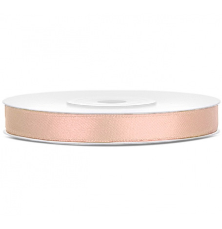 Ruban Satin Double Face Blanc (6mm)| Hollyparty