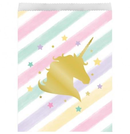 Sacs Cadeaux Licorne (x10)| Hollyparty