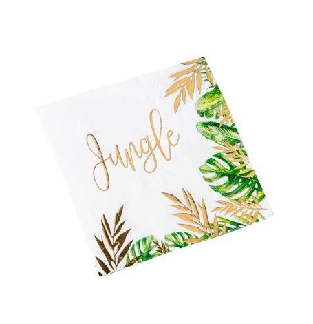 Serviettes en papier Tropical Jungle (x16)| Hollyparty