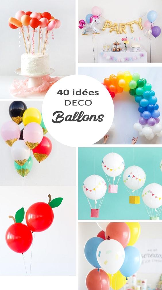 40 Idees Deco Avec Des Ballons De Baudruche