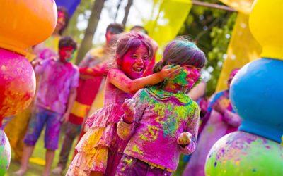 Holi : la fête des couleurs nous inspire !