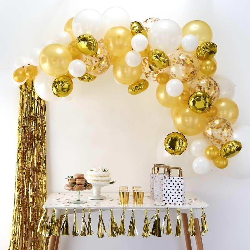 arche de ballon anniversaire