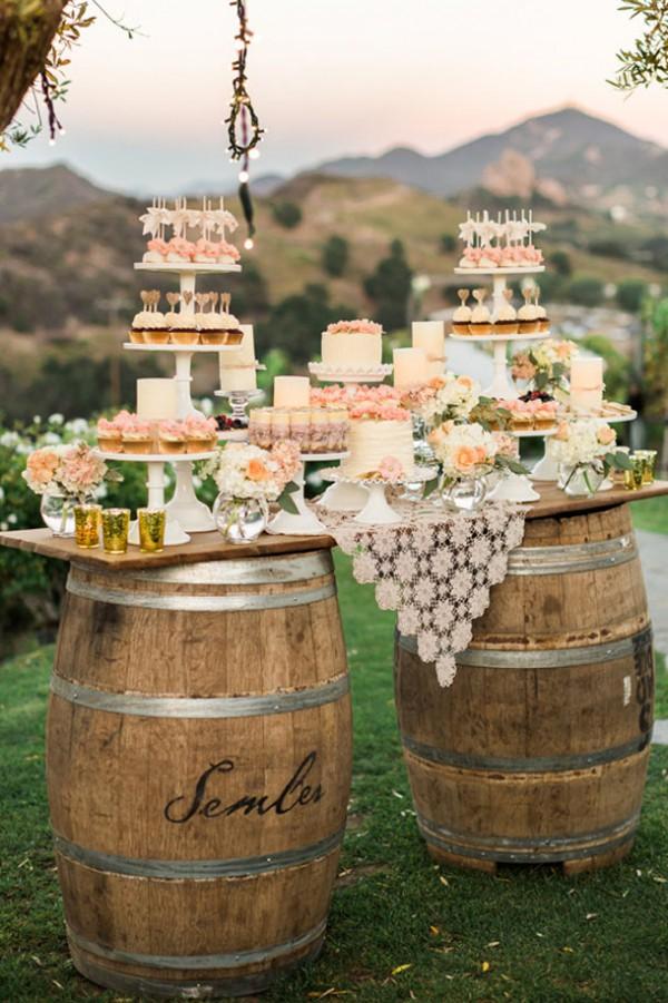 candy bar mariage champetre
