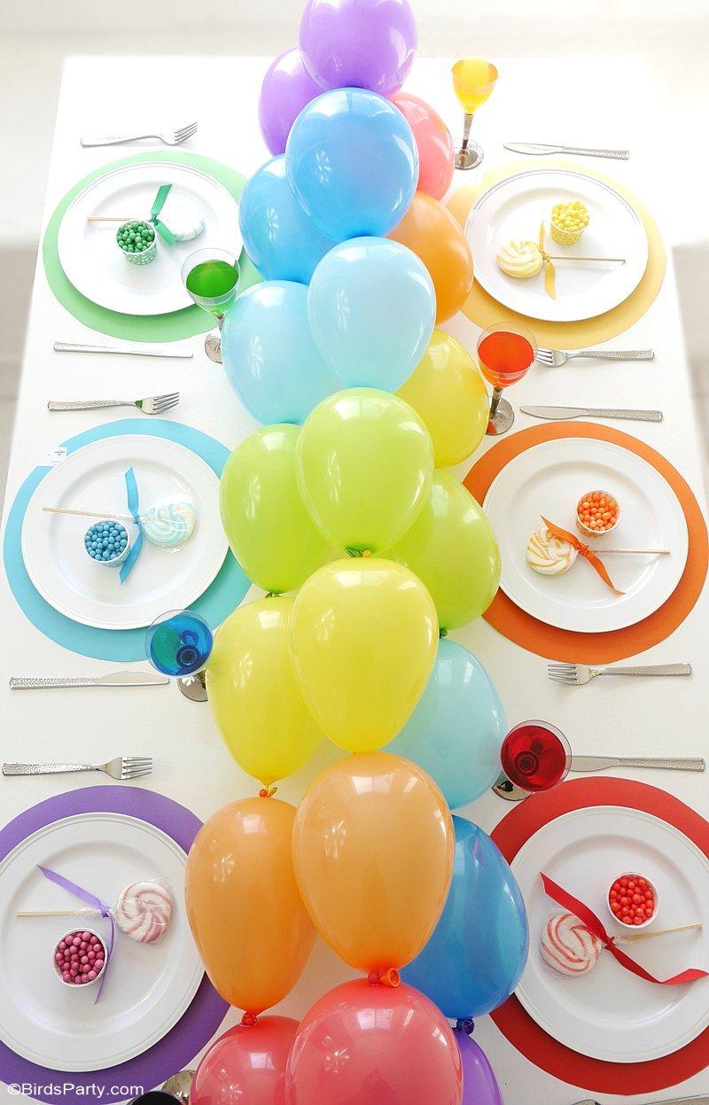 Petit Centre De Table A Faire Soi Meme 40 idées déco avec des ballons de baudruche