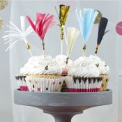 12 pics à gâteaux Multicolores