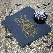 20 Serviettes en papier Toile d'araignée Halloween