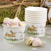 8 Pot à bonbons Lapin dans la Prairie