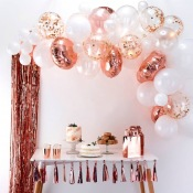 Arche de Ballon Organique Rose Gold (x60)