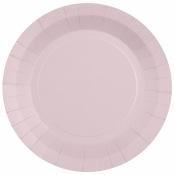 Assiettes biodégradable Rose Dragées (x6)