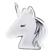 Assiettes en carton Happy Birthday Rose Gold (x4)