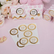 Autocollants Stickers Baby Girl (x25)