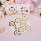 Autocollants Stickers Baby Shower (x25)
