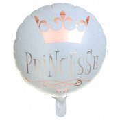 Ballon Alu Princesse Rose Gold 45 cm