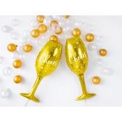 Ballon Mylar Aluminium Champagne Cheers