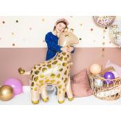 Ballon Mylar Aluminium Girafe, 80x102cm