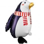 Ballon Mylar Aluminium Pinguin