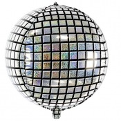 Ballon Mylar Boule à facettes Disco