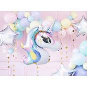 Ballon Mylar Licorne