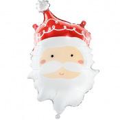 Ballon Mylar Père Noel