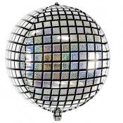 Ballon Mylar Rond Disco