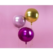 Ballon Mylar Rond Or Métallisé