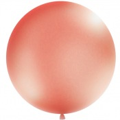Ballon Rond Géant Rose Gold Brillant